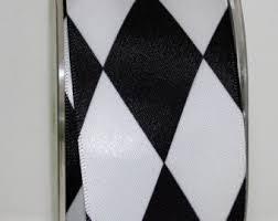 Harlequin Home Decor Black White Ribbon Etsy