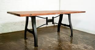 Cast Iron Bench Legs Manufacturers A Leg Dining Table Reclaimed Joined Timber From Local Markets