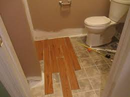 Vinyl Plank Flooring In Bathroom Bathroom Awesome How To Install Vinyl Plank Flooring In Bathroom