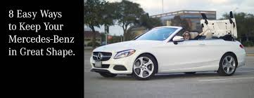 easy ways to keep your mercedes benz in great shape mercedes