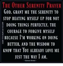 Serenity Prayer Meme - the other serenity prayer god grant me the serenity to stop beating