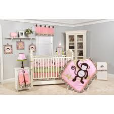 Nursery In A Bag Crib Bedding Set Pam Grace Creations Jolly Molly Monkey 10 Nursery In A Bag