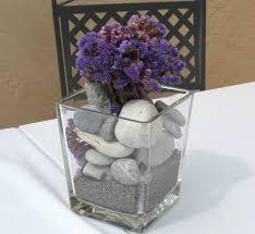 Vase Rocks Glass Vase Filled With Sand Or Rocks Wedding Centerpieces Ideas