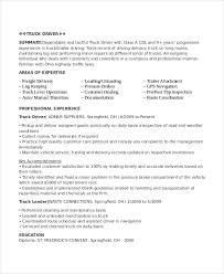 resume exles for any driver resume exles musiccityspiritsandcocktail