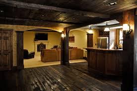 basement homes crooked creek basement with reclaimed barnwood creekstone custom homes