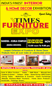 home decor exhibition times furniture expo ad advert gallery