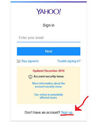 Yahoo Sign In Yahoo Sign Up Sign Up For Free Yahoo Mail