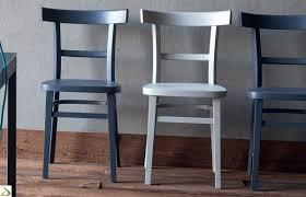sedie per cucina in legno sedia in legno da cucina lucrezia arredo design