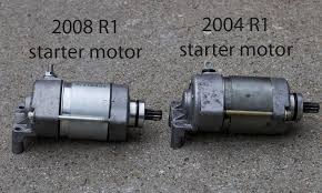 self inflicted problems with 2004 r1 and starter motor yamaha