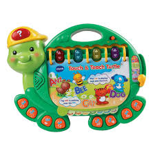 touch u0026 teach turtle toddler learning toy vtechkids com