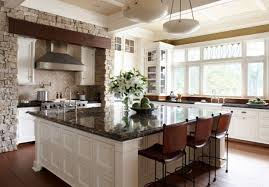 kitchens with large islands wonderful large square kitchen island favething