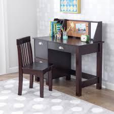 Espresso Desk With Hutch Study Desk With Chair Espresso