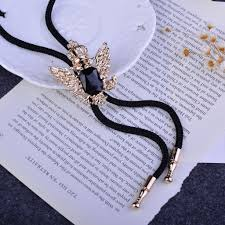 fashion bow necklace images Eagle cowboy bolo tie for men 2015 new fashion collar shirt jpg