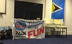 Padi Flag 160 Learn To Scuba Dive At London Of Diving