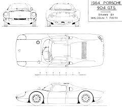 porsche 904 chassis porsche 904 1963 blueprint download free blueprint for 3d modeling
