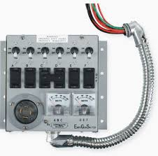 how to install a manual transfer switch for a backup system in 16