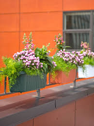 planters extraordinary deck railing window boxes rail planter
