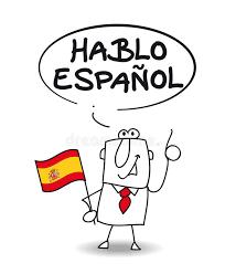 ich spr che ich spreche spanisch stock abbildung bild verhältnis 39838264