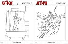 marvel ant man coloring pages free printables marvel s ant man coloring pages and activities