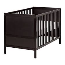 Ikea Crib Mattress Review Ikea Sundvik Crib Black Brown Baby