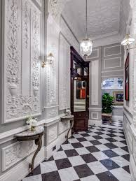 Home Decor London by Entrance Hall Chequered Floor Hallway Development Listed