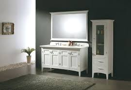 Freestanding Bathroom Furniture White Freestanding Bathroom Cabinet Gilriviere
