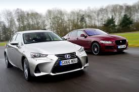lexus is350 f sport uk lexus is vs jaguar xe auto express