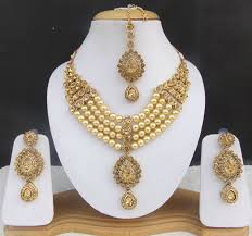 fashion jewellery necklace sets images Indian bollywood kundan pearl bridal fashion jewelry necklace jpg