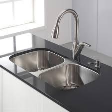 Resin Kitchen Sinks Best Stainless Steel Kitchen Sinks Reviews 32 Inch Sink Kraus