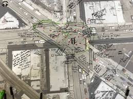 north damen overhaul could add crosswalk legalize u201c6 corners