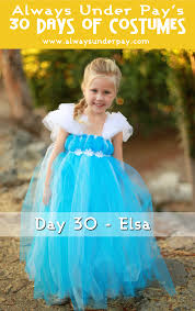 day 30 u2013 elsa diy halloween costume tutorial cheap easy