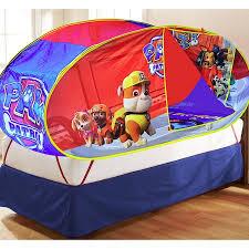 nickelodeon paw patrol sleepover bonus bed tent walmart