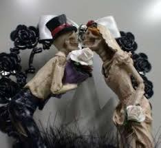 skull wedding cake topper a00159 gothic theme skull decoration day