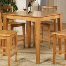 Oak Bistro Table Oak Pub Table Set Foter