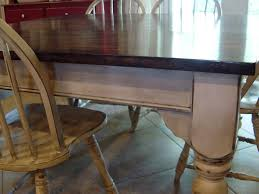 Dining Room Table Refinishing Remodelaholic Kitchen Table Refinished With Distressed Look