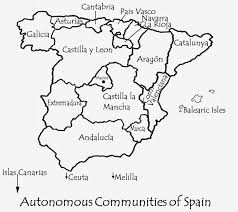 Andalucia Spain Map by Spanish Impressions Travel Writer Robert Bovington U0027s Impressions