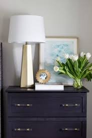guest room makeover with olympic paint in dover gray olympic