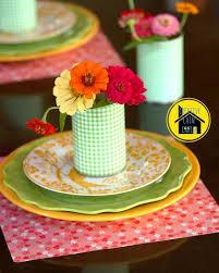 scrapbook paper craft table setting hometalk