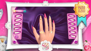 fashion nails 3d girls game android apps on google play