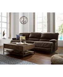 sofa bed recliner jedd 6 pc fabric sectional sofa with 3 power recliners created