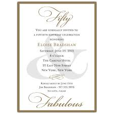 50th wedding invitations classic 50th birthday gold invitations paperstyle