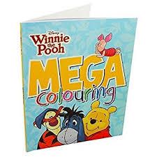 disney winnie pooh mega colouring book amazon uk toys