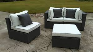 Used Wicker Patio Furniture Sets - three posts burruss 4 piece sofa set with cushions u0026 reviews wayfair