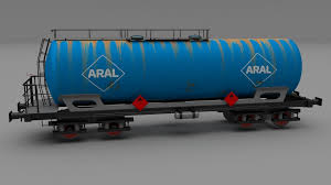 rusty train 3d aral rusty train tanker car cgtrader