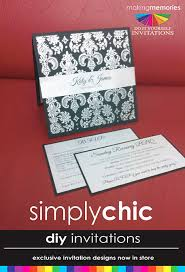 Do It Yourself Wedding Invitations Idesign U0026 Print