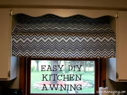 Awning Diy Mama Ging Easy Diy Awning Window Treatment