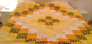 Patterns For Duvet Covers Make An Easy Weekend Patchwork Quilt Topper 5 Steps With Pictures