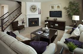 Corner Fireplace Living Room Furniture Placement - corner fireplace this is a great arrangement property