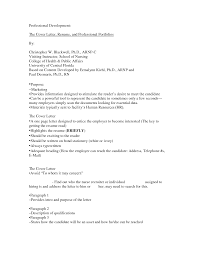 resume example of cover letter for job experience executive