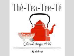 affiche deco cuisine affiche décoration cuisine thème thé vintage ées par atelierfl